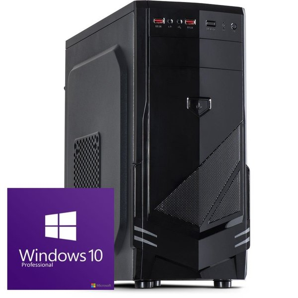 GAMER PC INTEL CORE i5 10400 GT 710 - 2GB/RAM 8GB/240GB SSD/Windows 10/Computer