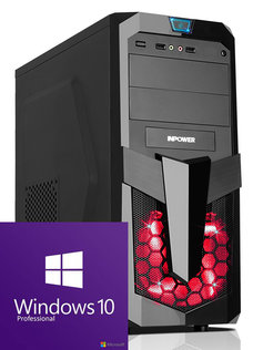 GAMER PC INTEL CORE i5 8600 UHD 630/8GB DDR4 2400/120GB SSD/Windows 10
